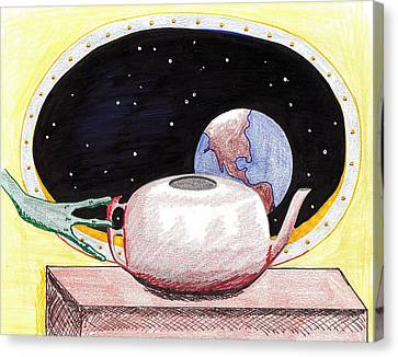 Aliens View Canvas Print