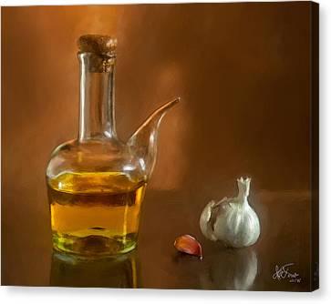 Canvas Print featuring the photograph Alioli by Juan Carlos Ferro Duque