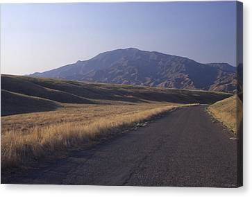 Aliso Road - Caliente Range Canvas Print by Soli Deo Gloria Wilderness And Wildlife Photography