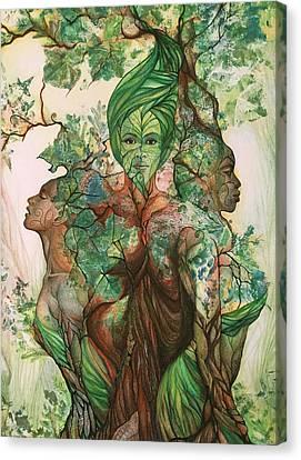 Alive Tree Canvas Print