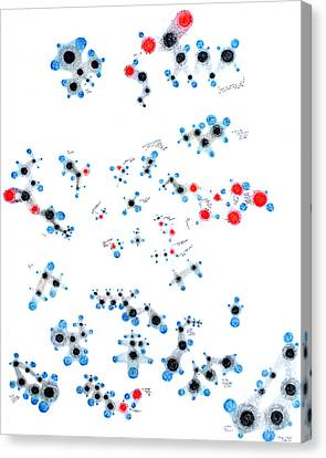 Alkanes And Friends Canvas Print