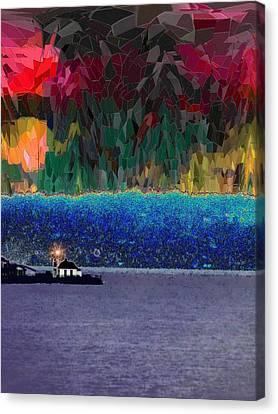 Alki Point Canvas Print by Tim Allen