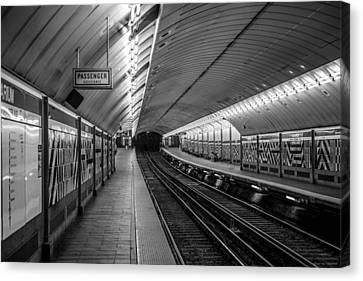 Canvas Print featuring the photograph All Aboard by Jason Moynihan