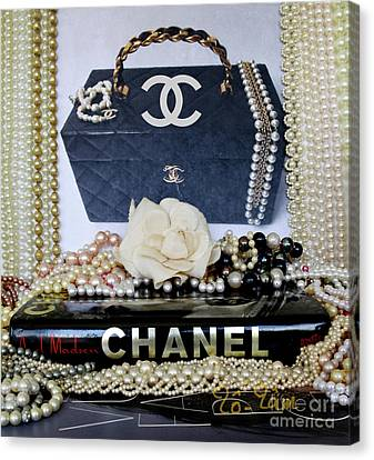 Totam Canvas Print - All About Coco Chanel by To-Tam Gerwe