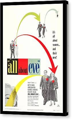 All About Eve Canvas Print by Georgia Fowler