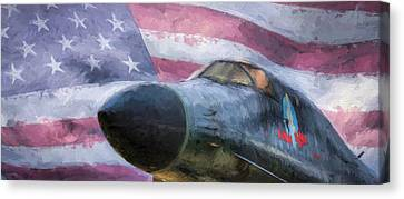 All American Bomber Canvas Print by JC Findley
