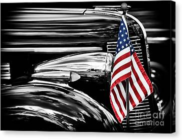 All American Buick Canvas Print by Tim Gainey
