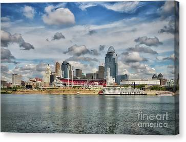All American City 2 Canvas Print by Mel Steinhauer