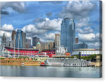 All American City Canvas Print by Mel Steinhauer