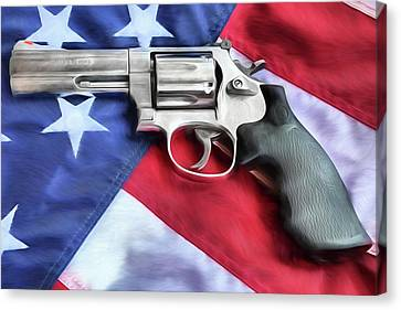 All American Firepower Canvas Print by JC Findley