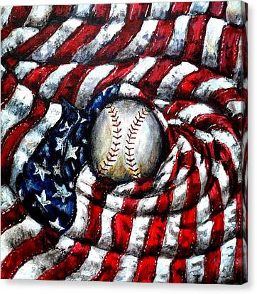 All American Canvas Print by Shana Rowe Jackson