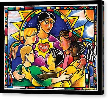 All Are Welcome - Mmaaw Canvas Print by Br Mickey McGrath OSFS