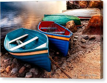 All Ashore Canvas Print by Christopher Holmes