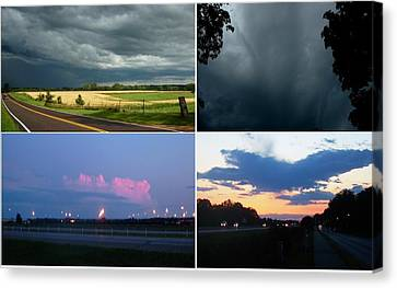 All Day Storm Canvas Print by Richard  Hubal