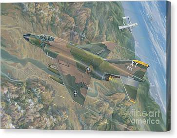 Boxer Canvas Print - All For One   The Rescue Of Boxer 22 Ban Phanop Laos 5 Thru 7 December 1969 by Randy Green