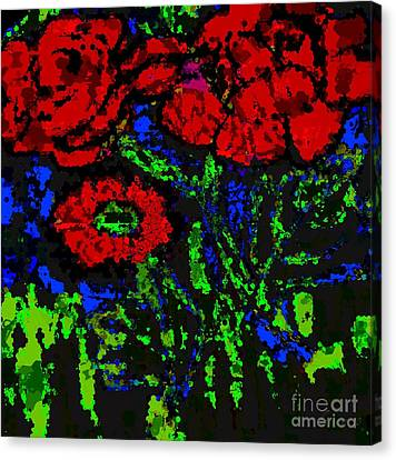 Faniart Africa America Canvas Print - All For You by Fania Simon