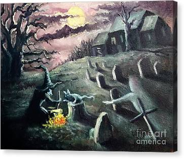 All Hallow's Eve Canvas Print by Randy Burns