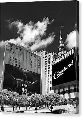 All In Cleveland Canvas Print by Kenneth Krolikowski