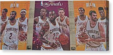 All In For The 2016 Finals Canvas Print