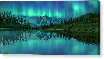 Canvas Print featuring the photograph All In My Mind by Jon Glaser
