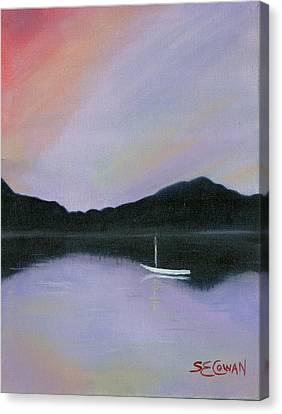 All Is Still Canvas Print by SueEllen Cowan