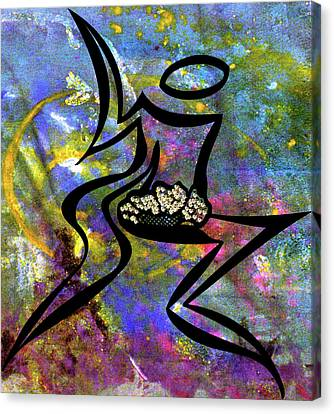 All Is Well In All Of Creation Canvas Print by Marie Halter