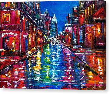 All Night Long Canvas Print by Debra Hurd