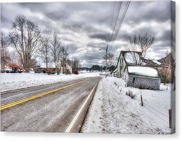All Roads Lead To Where We Go Canvas Print by Richard Bean