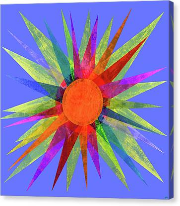 All The Colors In The Sun Canvas Print