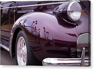 Canvas Print featuring the photograph All The Curves by Lora Lee Chapman