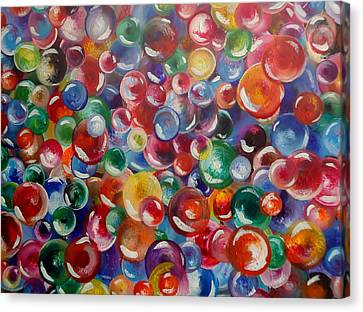 All The Lost Marbles Canvas Print