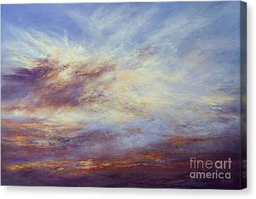 All Too Soon Canvas Print by Valerie Travers
