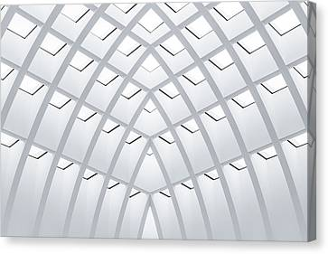 All White Canvas Print by Herve Loire