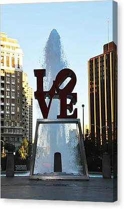 All You Need Is Love Canvas Print by Bill Cannon