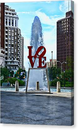 All You Need Is Love Canvas Print by Paul Ward
