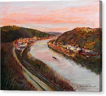Allegheny Valley Canvas Print by Martha Ressler