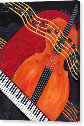 Allegro Canvas Print