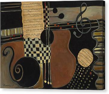 Allegro Moderato Canvas Print by Susan Rinehart