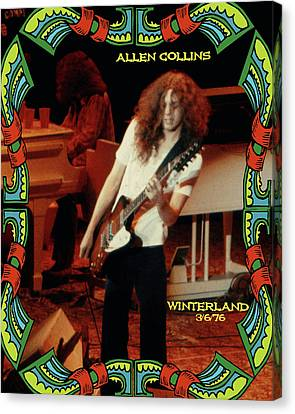 A C Winterland 1976 Canvas Print