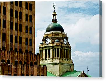 Allen County Courthouse - Fort Wayne Indiana Canvas Print by Mountain Dreams