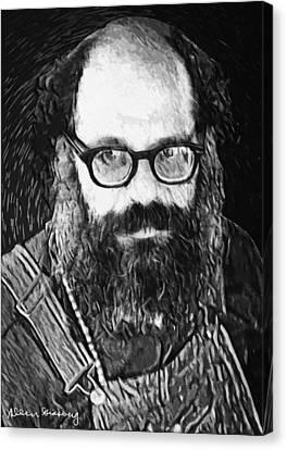 Allen Ginsberg Canvas Print