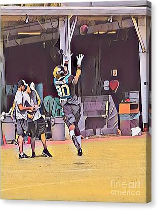 Allen Robinson Canvas Print by Clint Day