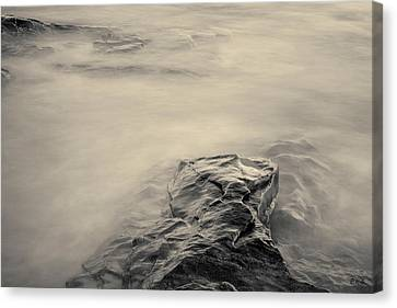 Canvas Print featuring the photograph Allens Pond Xii Toned by David Gordon