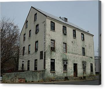 Feed Mill Canvas Print - Allentown Gristmill by Steven Richman