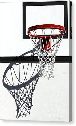 Canvas Print featuring the photograph Alley Hoop by Stephen Mitchell