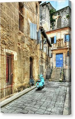 Alley In Arles Canvas Print