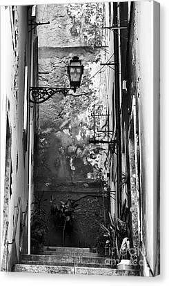 Alley Light Canvas Print by John Rizzuto