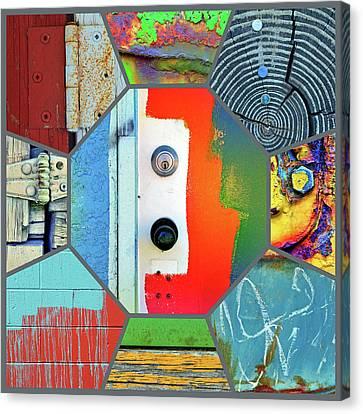 Alley Love Canvas Print
