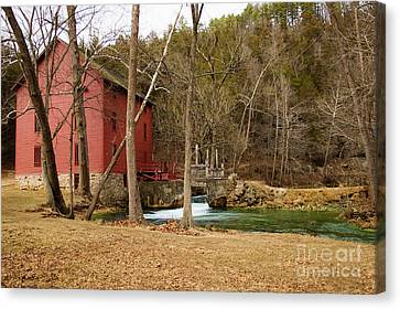 Alley Mill Canvas Print
