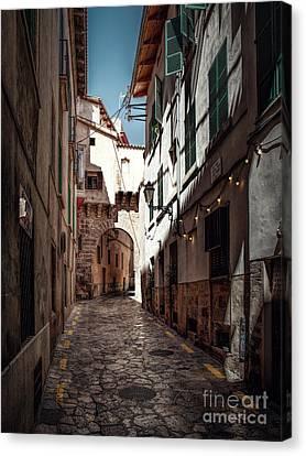 Alley Palma De Mallorca Canvas Print